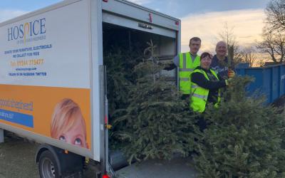 Christmas Treecycling